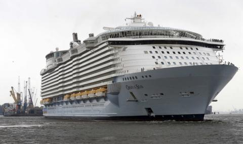 277 души се натровиха на круизен кораб