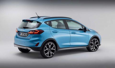 Ford Fiesta с нова визия за 2022 година - 8