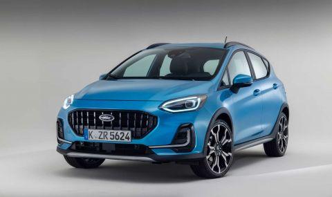 Ford Fiesta с нова визия за 2022 година - 6