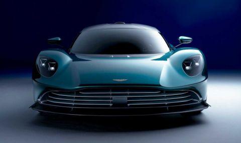 Новият хиперавтомобил Aston Martin Valhalla впечатли с производителност и цена