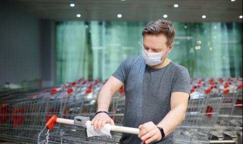 Как да не се заразим с коронавирус в магазина?