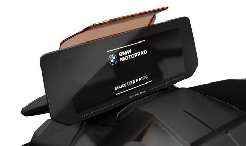 BMW представи електрически скутер с максимална скорост от 120км/ч - 7