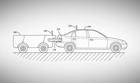 Превозно средство без водач ще зарежда коли с всякакъв вид гориво в движение