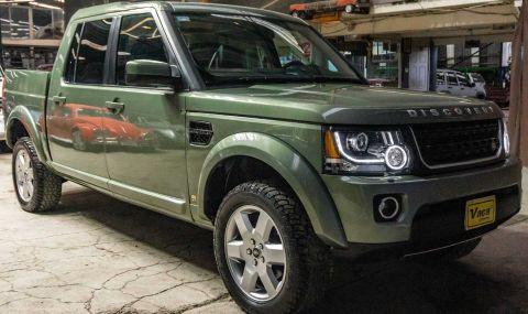 Land Rover Discovery пикап в една единствена бройка - 1