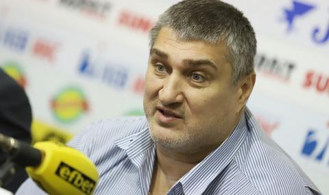Любо Ганев със сериозна заявка за развитието на българския волейбол