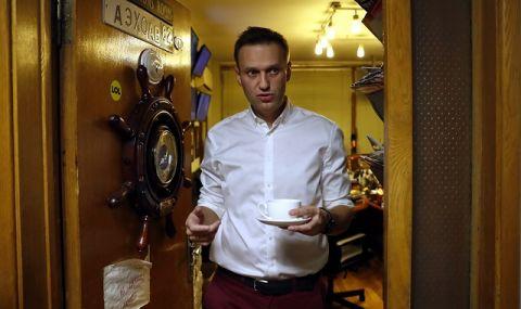 Навални е със симптоми на респираторно заболяване