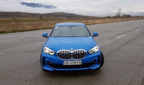 Тествахме новото най-евтино BMW (вече с предно предаване)