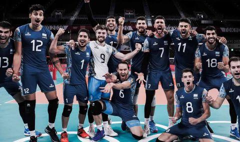 Сензация на Олимпиадата в мъжкия волейбол - 1