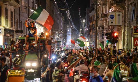 UEFA EURO 2020: Италия не спа след триумфа в Европа!
