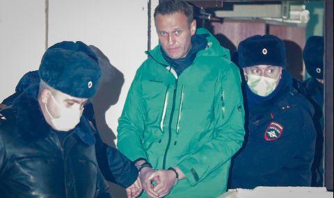 Навални е прехвърлен в болнично отделение