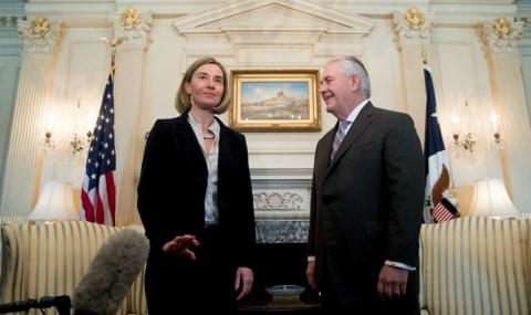 Могерини към САЩ: Не се месете в делата на ЕС! - 1