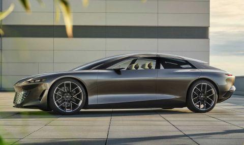Audi Grandsphere дебютира с изящен дизайн и 710 конски сили - 1