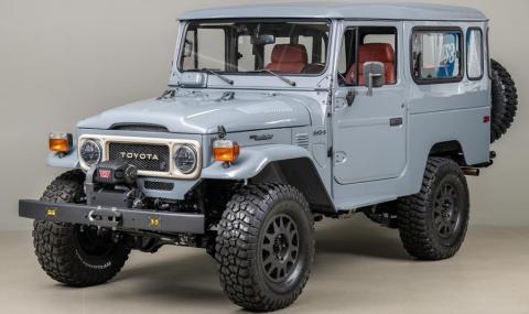"""Ето как изглежда стар """"джип"""" Toyota, възстановяван цяла година"""