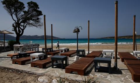 Гърция отчита огромни загуби в туризма заради тестовете