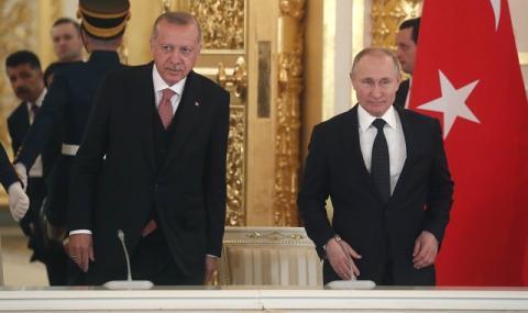 Ердоган е разтревожен за Сирия! Звъни на Путин