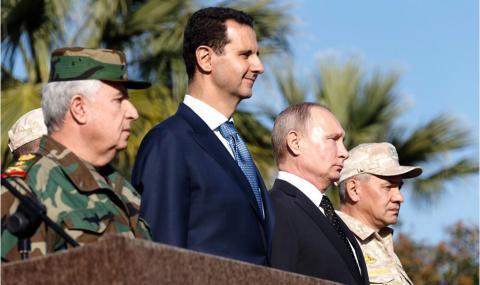 Русия: САЩ използват терористи, за да свалят Асад