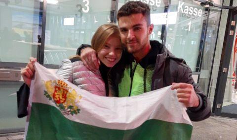 Годеж по олимпийски:  Дейвид Хъдълстоун предложи брак на своята любима Ерика Зафирова