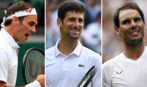 Сравниха Федерер, Джокович и Надал с Джордан, Коби Брайънт и Леброн Джеймс