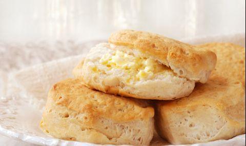 Рецепта на деня: Бисквити с извара