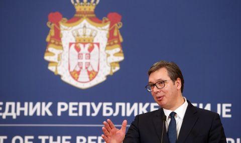 Вучич: Компромисът е единственото решение в диалога Белград - Прищина