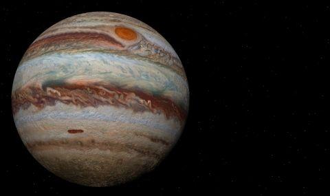 Ветровете на Юпитер са по-бързи от куршум