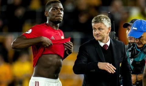 Юнайтед не удължава договора на Погба