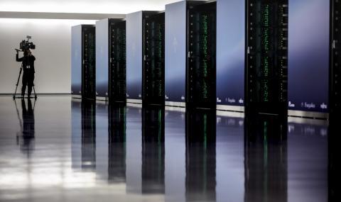 Символична първа копка на сградата на българския суперкомпютър