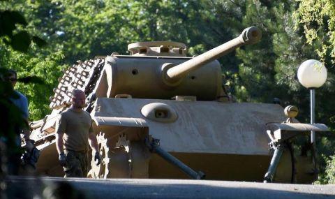 Танк от Втората световна война в мазето на германски пенсионер - 1