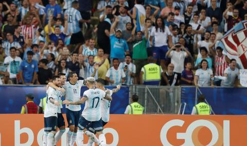 Аржентина надви Венецуела, ще спори с Бразилия за финала на Копа Америка