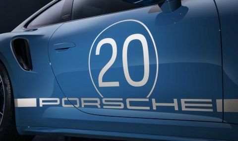 Porsche отбелязва 20 години в Китай със специална версия на 911 - 5