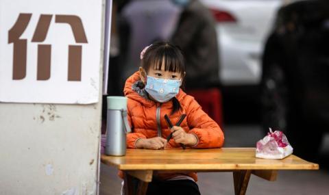 Само три нови случая на заразяване в Китай
