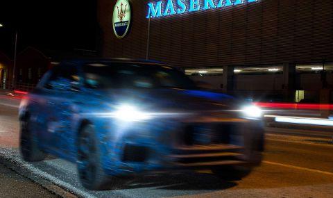 Maserati показа ново SUV в противоречиви снимки - 2