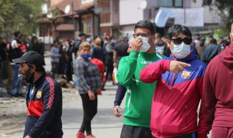 Много семейни огнища на коронавирус в циганските гета в София