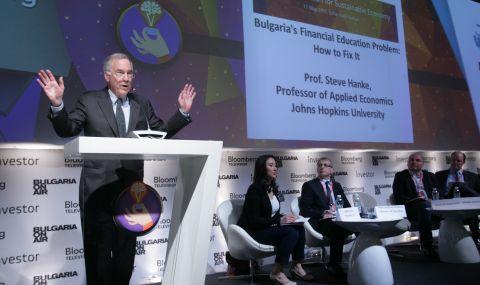 Стив Ханке: България е лесна мишена