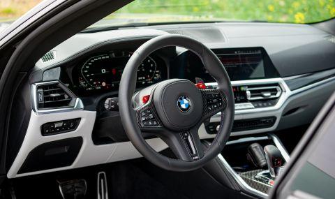 Тествахме новото BMW M4 Competition - 18