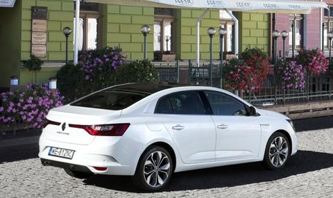 Първи тест на новото Renault Megane Sedan - 1