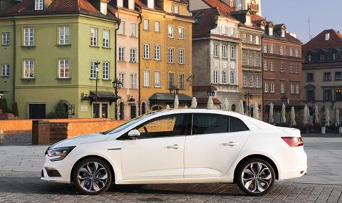 Първи тест на новото Renault Megane Sedan - 3