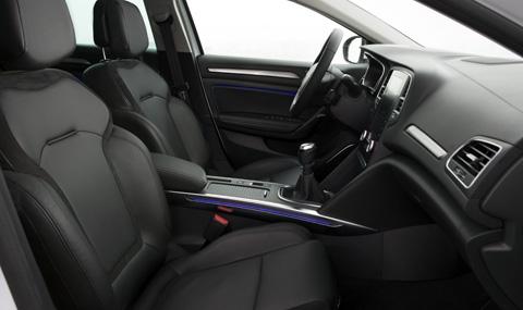 Първи тест на новото Renault Megane Sedan - 6