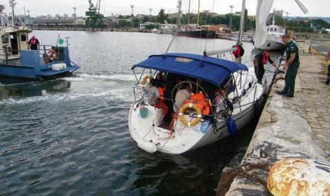 Белгиец падна зад борда на яхта във Варна и изчезна