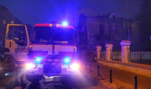 Жена обгоря при пожар в столицата