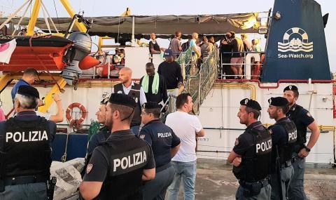 Италианската полиция арестува капитан на кораб