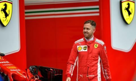 Ferrari предложи нов договор на Фетел, ама с намалена заплата
