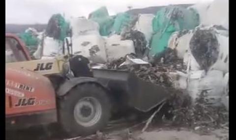 """""""Биволъ"""": Доставчикът на боклука е бил арестуван в Италия за изгаряне на токсични отпадъци"""