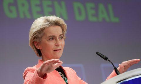 Урсула фон дер Лайен: Икономиката на изкопаемите горива е на доизживяване