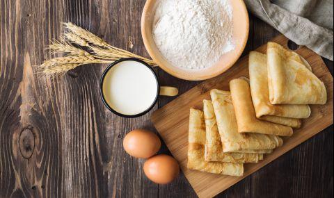 Рецепта на деня: Идея с вчерашни палачинки - 1