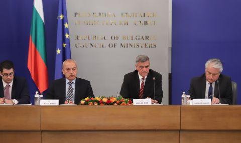 Отчетът на Служебния кабинет: В момента икономиката е в подем, който трябва да се запази  - 1