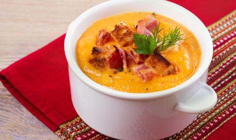 Рецепта на деня: Бобена крем супа с бекон