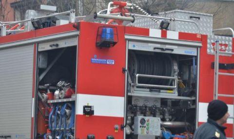 Запали се локомотив на пътнически влак в Плевенско