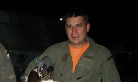Майор Валентин Терзиев е изчезналият пилот, управлявал падналия МиГ-29