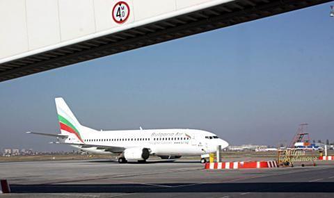 Българския национален превозвач с допълнителни полети - 1